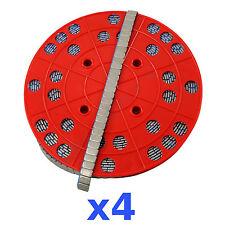 4x 6KG 24KG ROLLE Auswuchtgewichte Klebegewichte 1200x5g 5g Riegel Wuchtgewichte