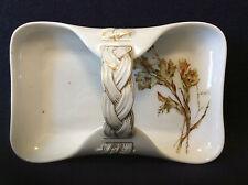 Limoges Haviland - Co coupelle panier porcelaine peinte main décor floral c 1876