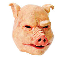 Horror Pig Latex Rubber Mask Fancy Dress Costume Outfit Prop Halloween