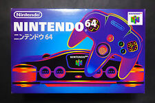 Console NINTENDO 64 System JAPAN Very.Good.Condition C.I.B