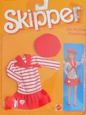 1984 SKIPPER SO ACTIVE VINTAGE RED & WHITE FASHION!! BARBIE COLLECTOR