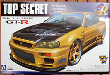 2000 Nissan Skyline GT-R R 34 Top Secret, 1:24, JDM Aoshima 041727