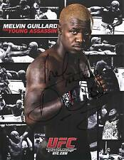 MELVIN GUILLARD UFC MIXED MARTIAL ARTS SIGNED PHOTO AUTOGRAPH ULTIMATE FIGHTING
