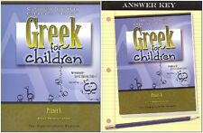 Greek for Children Primer A SET - Textbook and T. Key, Classical Academic Press