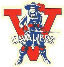 University Of Virginia  CAVALIERS -VA-   Vintage-Looking   Travel Decal  Sticker