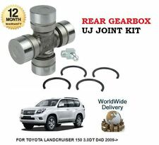 FOR TOYOTA LANDCRUISER 150 3.0DT D4D 2009- NEW REAR GEARBOX UJ JOINT KIT