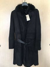 NWT AUTHENTIC BURBERRY LONDON WOMENS PRIORSWOOD SHEARLING TRENCH COAT US 12