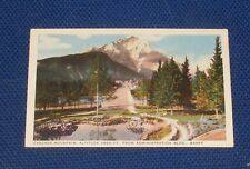 Cascade Mountain, Altitude 9825 FT., From Administration Bldg., Banff