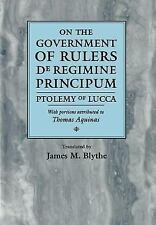 On the Government of Rulers: De Regimine Principum (The Middle Ages Se-ExLibrary