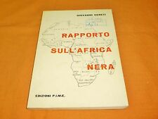 giovanni cereti rapporto sull'africa nera edizione pime 1969