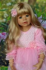 "Masterpiece Doll Coco Blonde Wig, Fits Up To 19"" Head"