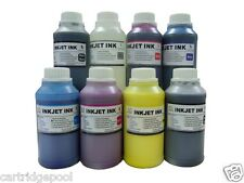 Pigment Refill Ink kit for Epson 54 T054 Stylus Photo R800 R1800 8x250ml/8syr