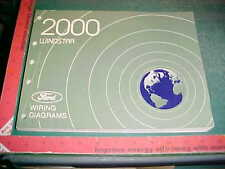 2000 FORD WINDSTAR WIRING DIAGRAMS MANUAL very good