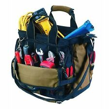 "Kuny's SW-1538 ToolWorks 10"" Triple Zippered 27 Pockets Tool Carrier Bag"