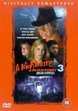 A NIGHTMARE ON ELM STREET PART 3 DREAM WARRIORS Robert Englund UK REGION 2 DVD