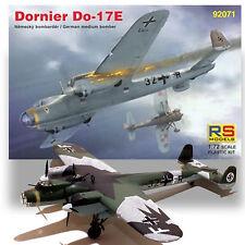 RS MODELS 1/72 DORNIER DO17E GERMAN MEDIUM BOMBER