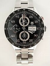 Tag Heuer Carrera 43mm Day-Date Automatic Men's Watch CV2A10.BA0796