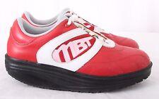 MBT Lifestyle 01 Red Rocker Fitness Walking Sneakers Men's U.S. 7 Women's U.S. 9