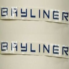BAYLINER 28 x 1 1/4 INCH BOAT DECALS (Pair) decal