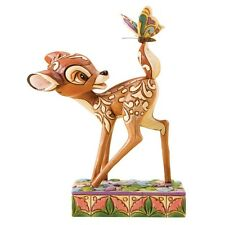 Disney Showcase Jim Shore Wonder Of Spring Bambi  Figurine Ornament 4010026