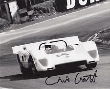 Chris Craft Hand Signed 10x8 Photo Le Mans.