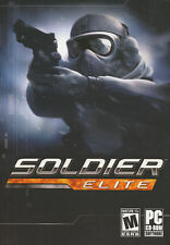 SOLDIER ELITE Covert Mission Shooter PC Game NEW in BOX