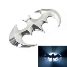1xSilver 3D decoration Metal bat car sticker animal cool badge emblem auto decal