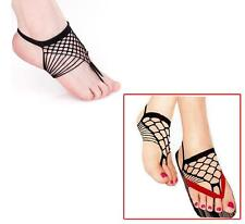 Secret Sinners Sexy Foot Thong Fishnet Sock Style Barefoot Beach Wear Feet 149