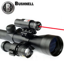 Bushnell Banner Short Rifle Scope 3-9x40+ Spike Red Laser 11/22mm +CREE Torch US