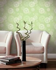 Floating Coral In A Lime Green Mist Wallpaper AW11003