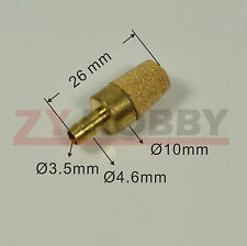 Sintered Bronze Fuel Filter For RC Airplane Boat Car Engine, Nitro, Gas