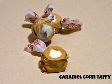 CARAMEL CORN Salt Water Taffy Candy - TAFFY TOWN - 5 LB BAG