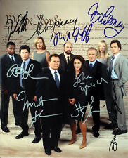 WEST WING CAST  SIGNED 8X10 PHOTO RP ROB LOWE MARTIN SHEEN