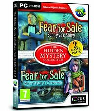 Fear for Sale 2 and 3 (PC DVD) BRAND NEW SEALED