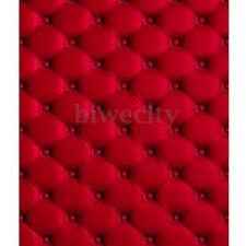 5x7FT Vinyl 3D Red Wall Photography Background Backdrop For Studio Photo Props