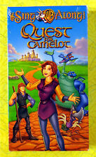 Sing Along: Quest For Camelot ~ New VHS Movie ~ Kids Cartoon Sealed Video