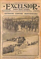 Front Montenegro Archduke Frederick of Austria Artillery Front  WWI 1916
