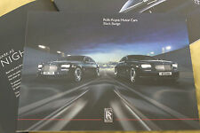 2016 Rolls-Royce Black Badge product overview brochure - Limited Wraith Ghost