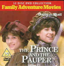 THE PRINCE AND THE PAUPER - Family Adventure Movie - DVD