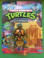 Teenage Mutant Ninja Turtles Hero TMNT Leonardo 10 Back Action Figure