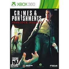 Crimes & Punishments Sherlock Holmes Xbox 360 Game  Brand New - Fast Ship