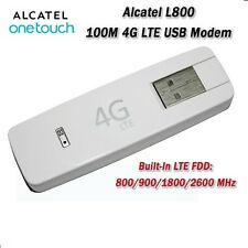 UNLOCKED ALCATEL L800 LTE FDD 800/900/1800/2600MHZ 4G USB DONGLE MODEM (NOT W800
