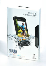 "LifeProof nuud Waterproof Water Dust Proof Case for 4.7"" iPhone 6s (Black) USED"