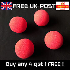 Four 1.5 Inch Sponge Balls - for Close-up Magic Tricks - 4 NEW balls