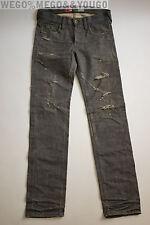 PRPS Japan Noir Men Jeans P59P03VBL Gray Selvedge Denim Jeans size 31 x 34
