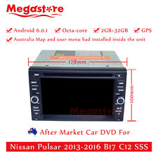 "6.2"" Octa Core Android 6.0 Car DVD GPS For Nissan Pulsar 2013-2016 B17 C12 SSS"