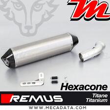 Silencieux Pot échappement Remus Hexacone titane sans cat BMW K 1300 GT 2011