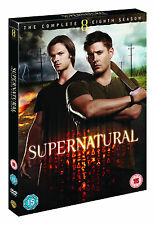 Supernatural - Series 8 - Complete (DVD, 2013, 4-Disc Set, Box Set)