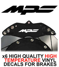 MAZDA MPS HI - TEMP CAST VINYL BRAKE CALIPER DECALS STICKERS MX-5 MAZDASPEED