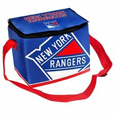 New York Rangers NHL Hockey 2012 Big Logo Team Lunch Bag - 6 Pack Cooler